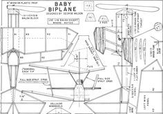 Baby Biplane Plans, October 1971 American Aircraft Modeler - Airplanes and Rockets