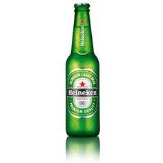 Heineken これも海外に行くとよくお世話になるビール