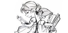 thedisnerd:  ▣ Frozen(2013) concept art, Anna and Elsa as toddlers