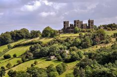 ***Riber Castle seen from Heights of Abraham (Matlock, Derbyshire, England) by Brian Chadwick