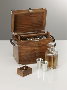 Just for you. Drinks Cabinet, Liquor Cabinet, Shoe Shine Box, Portable Bar, Campaign Furniture, Wooden Gift Boxes, Crystal Decanter, Vintage Luggage, Liqueur