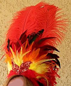 This auction is for a wonderful Fire it up! Fire Phoenix Showgirl Crown Headdress A brand new style and measures high x 9 wide red Fire Costume, Costume Hats, Rave Costumes, Halloween Costumes, Carnival Headdress, Phoenix Costume, Fire Fairy, Vegas Showgirl, Headpiece Jewelry