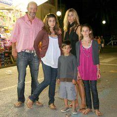 Prince Kyril, Princess Rosario Nadal, Princess Mafalda-Cecilia, Princess Olimpia & Prince Tassilo of Bulgaria
