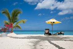 nada más relajante para unas vacaciones que la playa con el mar azul y la brisa refrescante