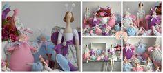 Festa da Tilda | Flickr - Photo Sharing! kits decorativos com bonecas Tilda para festas infantis e chás de bebê. Atelier Flor de Tule