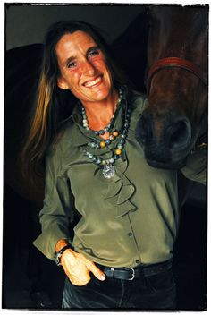 A ruffled blouse goes wonderfully with this layered equestrian horse necklace.  Necklace: http://coopercreekcollections.com/collections/necklaces/products/ccn430  Bracelet: http://coopercreekcollections.com/collections/bracelets/products/ccb102