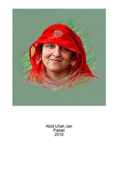 Pastel portrait by Abid Ullah Jan Pastel Portraits, Pastel Drawing, Art Work, Drawings, Movie Posters, Artwork, Work Of Art, Film Poster, Sketches