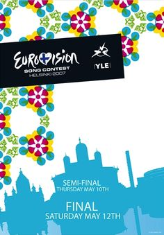 Eurovision Song Contest Helsinki 2007. I was there. :-)