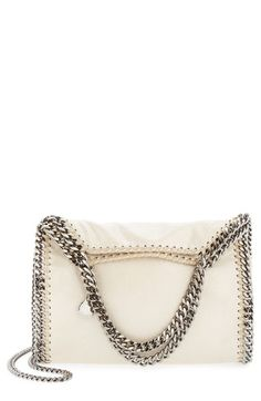 Stella McCartney 'Falabella - Mini' Metallic Tote available at #Nordstrom