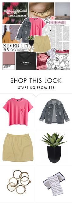 """NEVER LET ME GO /8/"" by emmas-fashion-diary ❤ liked on Polyvore featuring Chanel, St. John and Vans"