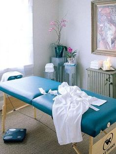 Massage Room Decorating