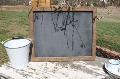 Handmade Farmhouse Chalkboard