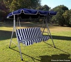Outdoor Furniture 3 Seater Hanging Swing Chair Love Chair Seat with Canopy Auction Outdoor Swing Seat, Hanging Swing Chair, Outdoor Loveseat, Hammock Swing Chair, Patio Swing, Swinging Chair, Outdoor Chairs, Swing Chairs, Love Chair