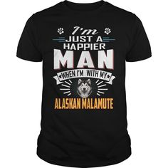Happier Man With ALASKAN MALAMUTE #gift #ideas #Popular #Everything #Videos #Shop #Animals #pets #Architecture #Art #Cars #motorcycles #Celebrities #DIY #crafts #Design #Education #Entertainment #Food #drink #Gardening #Geek #Hair #beauty #Health #fitness #History #Holidays #events #Home decor #Humor #Illustrations #posters #Kids #parenting #Men #Outdoors #Photography #Products #Quotes #Science #nature #Sports #Tattoos #Technology #Travel #Weddings #Women