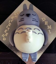 Totoro taart