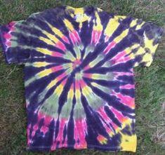 make tie dye shirts