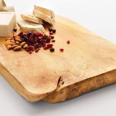 burl wood platter