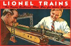 Lionel Trains catalog cover 1934
