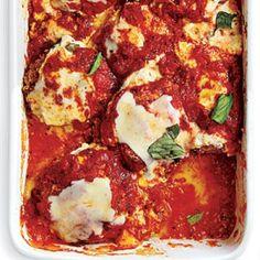 Best Vegetarian Recipes: Eggplant Parmesan | CookingLight.com