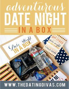 Adventures Date Night ideas. My spouse will love these! www.TheDatingDivas.com