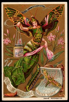 Liebig Tradecard S265 - Butterfly Girls | Liebig's Meat Extr… | Flickr