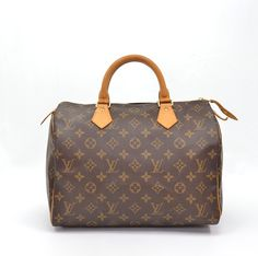 Louis Vuitton Speedy 30 City Bag In Monogram Canvas  (can't link to the actual LV site)