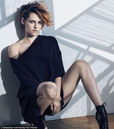 Kristen Stewart leaves Twilight image behind in sexy Vanity Fair shoot #dailymail