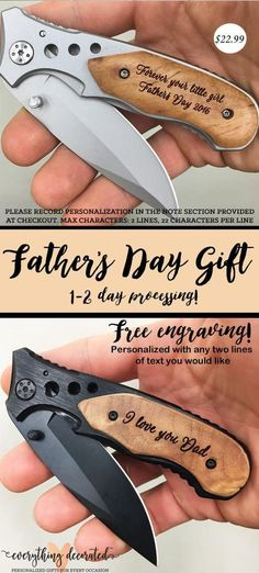 Fathers Day Gift For Dad, First Father's Day Gift, Engraved Pocket Knife with Birthdays of Children, Gift from Wife, Dau First Fathers Day Gifts, Fathers Day Presents, Gifts For New Dads, Fathers Day Crafts, Gifts For Husband, Fathers Day Ideas, Personalized Fathers Day Gifts, Good Fathers Day Gifts, Dad Crafts