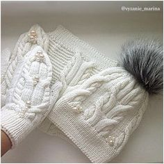 136 likes, 8 comments – Knitting … - Knitting Crochet Knitted Mittens Pattern, Sweater Mittens, Baby Hats Knitting, Baby Knitting Patterns, Knitting Designs, Knitting Stitches, Knitting Projects, Knitted Hats, Scarf Hat