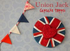 Union Jack theme - Silver Wedding anniversary