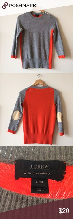 J Crew Sweater Light enough for spring, excellent condition. Wool & cashmere blend. J. Crew Sweaters Crew & Scoop Necks
