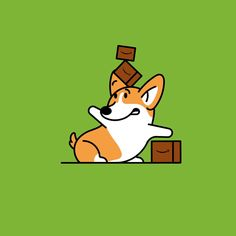 Web-stacking.gif Cute Wallpaper Backgrounds, Cute Wallpapers, Corgi Drawing, Corgi Funny, Funny Minion, Funny Jokes, Funny Animals, Cute Animals, Gifs