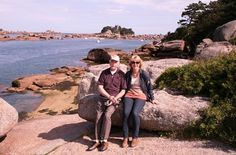 Ploumanac'h on the Pink Granite Coast, Brittany