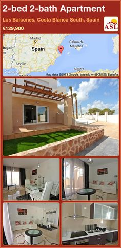 2-bed 2-bath Apartment in Los Balcones, Costa Blanca South, Spain ►€129,900 #PropertyForSaleInSpain
