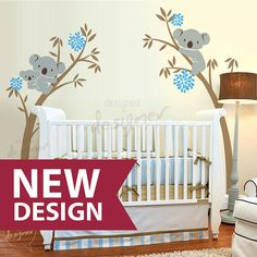 Koala Bear Wall decal Tree Branch Wall decal by designedDESIGNER, $88.00