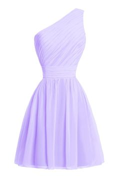 Dora Bridal WomenandAcute;s One Shoulder Prom Party Bridesmaid Dresses Lilac ** You can get even more details by clicking the picture. (This is an affiliate link). #bridesmaiddresses