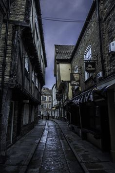 """""""The Shambles"""" by Stem-Images . fourteenth centuri, old streets"""