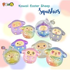 Puni Maru SCENTED Mini Kawaii Easter Sheep!