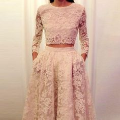 two piece prom dress 2017jewel long sleeves appliques women pageant gown for formal party