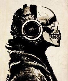 Put on my headphones, listen to the Deftones