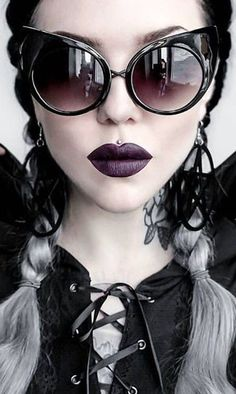 Goth.                                                                                                                                                                                 More #Gothicbeauty