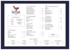 Fair Finch Coffee Restaurant main menu by Restoranskie.