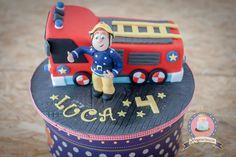 Feuerwehrmann Sam Party Cake | Geburtstags Birthday Party | Recipes & more... by Kuchenkönigin