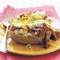 Best Barbecue-Stuffed Potatoes