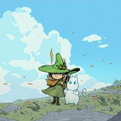 Art by Oscar Vega Moomin Wallpaper, Les Moomins, Moomin Valley, Kobold, Tove Jansson, Cartoon Shows, Cute Illustration, Wallpaper Backgrounds, Wallpapers