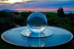 AquaLens Sphere Fountain