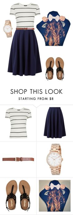 """""""Casual outfit"""" by pentecostalgirll ❤ liked on Polyvore featuring Topshop, Maison Boinet, Marc by Marc Jacobs and Aéropostale"""