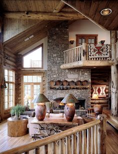 #living #room #rustic