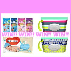 WIN Huggies Potty Training Survival Kit E: 13/01/2016