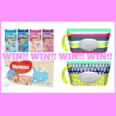 WIN Huggies Potty Training Survival Kit E: 13/01/2016